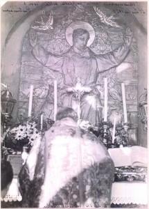1929 Inaugurazione della Cappella di San Francesco