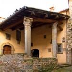 Castel Focognano - loggetta del podestà