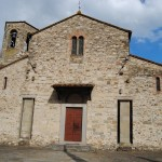 Pieve a Socana ara etrusca e abside romanico