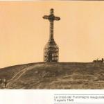 La croce inaugurata il 3 agosto 1969