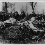 I resti dell'aereo di Hinkler